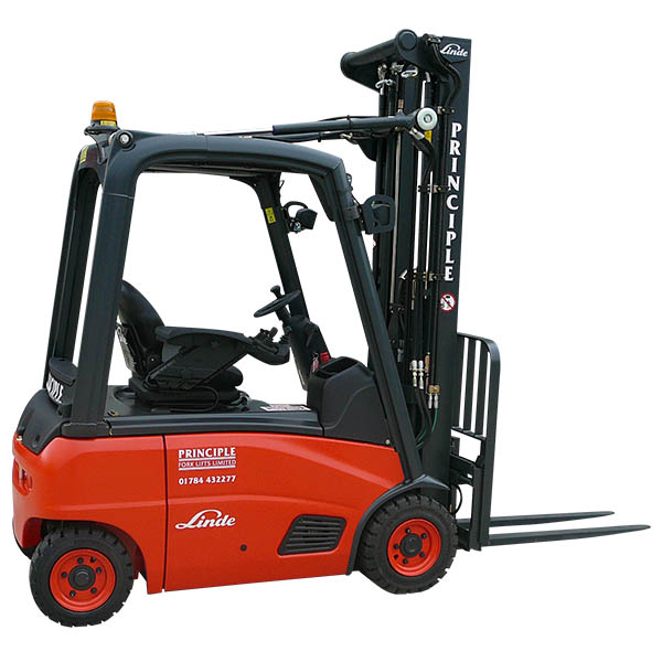 Linde forklift truck hire - Principle Fork Lifts