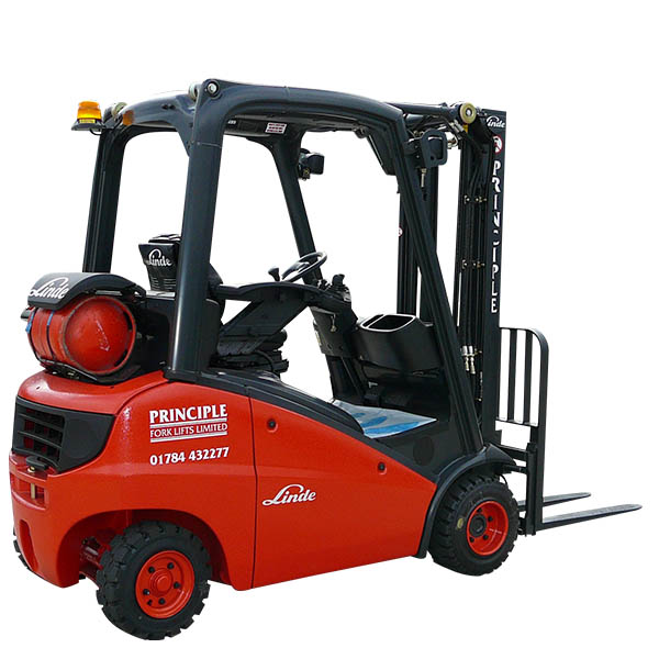 Equire about hiring a Linde Gas Forklift Truck today from the experts - Principle Fork Lifts in Surrey
