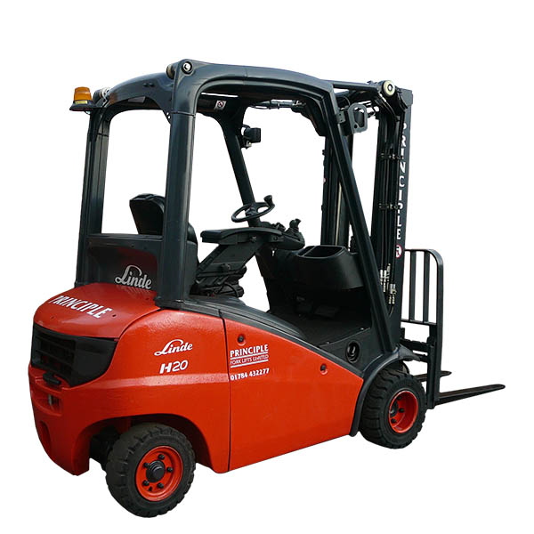 Hire a Linde Diesel Fork lift from Principle Forklifts Today